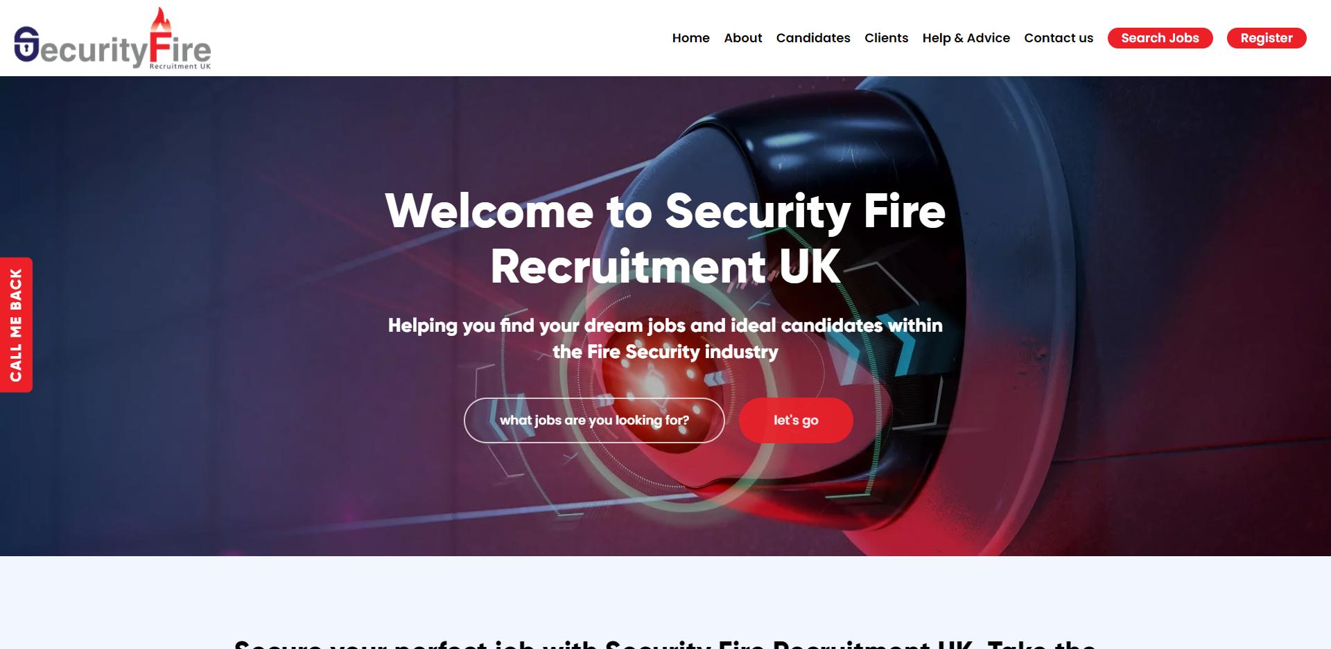 Security Fire Recruitment